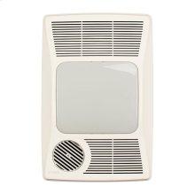 Heater/Fan/Light, 1500W Heater, 100W Incandescent Light, 100CFM
