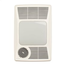 Heater/Fan/Light, 1500W Heater, 100W Incandescent Light, 100CFM