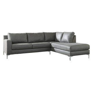 Ryler Sectional Charcoal Right