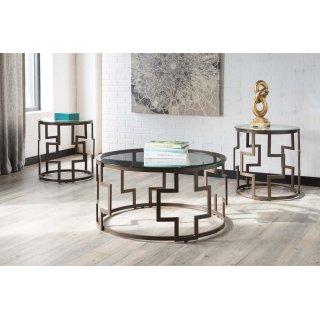 Frostine 3 Piece Table Set