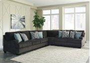 Charenton - Charcoal 3 Piece Sectional Product Image