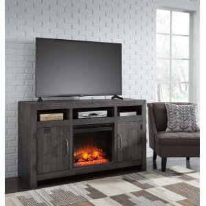 Ashley Furniture Mayflyn - Charcoal 2 Piece Entertainment Set