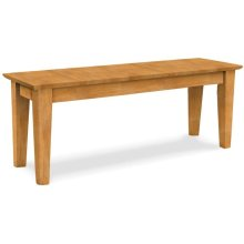 47'' Farmhouse Shaker Bench