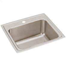 "Elkay Lustertone Classic Stainless Steel 22"" x 19-1/2"" x 10-1/8"", Single Bowl Drop-in Sink"