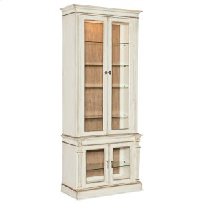 Hooker FurnitureDining Room Sanctuary Display Cabinet Blanc