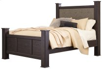 Reylow - Dark Brown 3 Piece Bed Set (Queen) Product Image