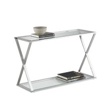 Gotham Console Table - Silver