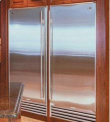 Classic Stainless 601F All Freezer