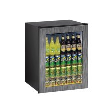 "Ada Series 24"" Ada Glass Door Refrigerator With Integrated Frame Finish and Field Reversible Door Swing (115 Volts / 60 Hz)"