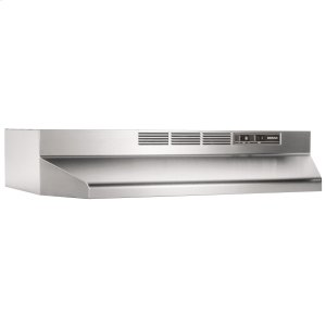 BroanBroan® 24-Inch Ductless Under-Cabinet Range Hood, Stainless Steel