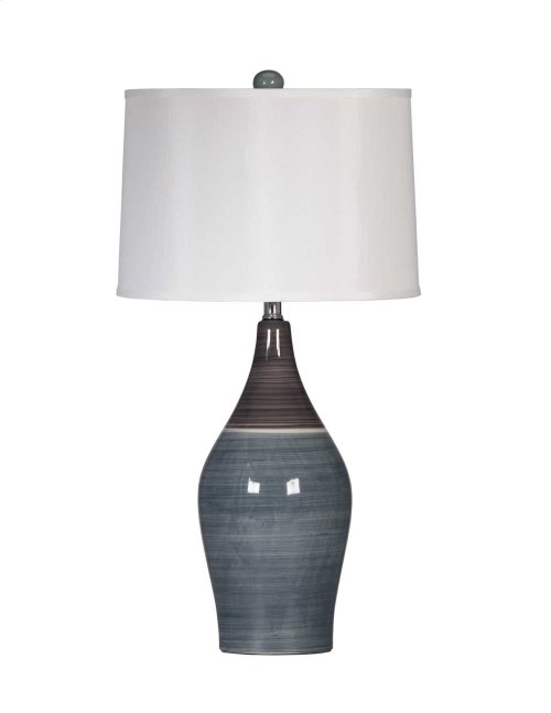 Ceramic Table Lamp- Niobe Multi Gray