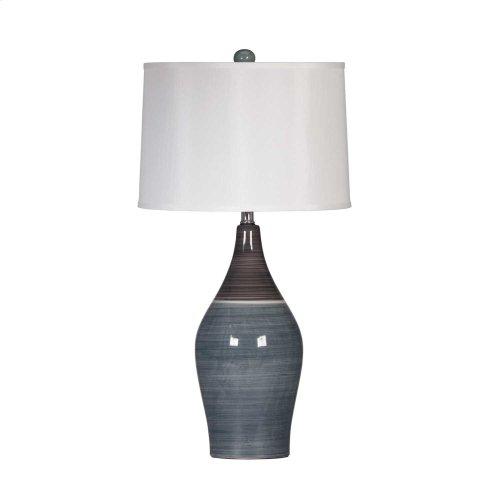 Ceramic Table Lamp- Niobe Multi Gray