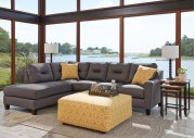 Kirwin Nuvella - Gray 2 Piece Sectional Product Image