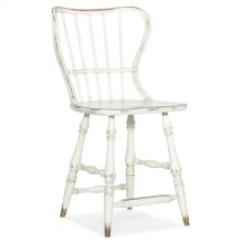Dining Room Ciao Bella Spindle Back Counter Stool-White