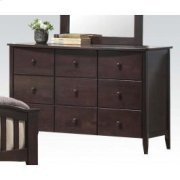 Dk Walnut Dresser W/6 Drawers Product Image