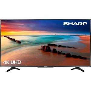 "Sharp50"" Class (49.5"" Diag.) 4K UHD 60 Hz Roku TV"