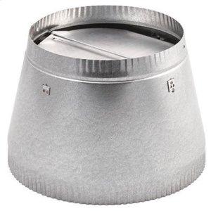 "Broan10"" to 8"" Reducer-damper, use with Model 504 (includes damper)"