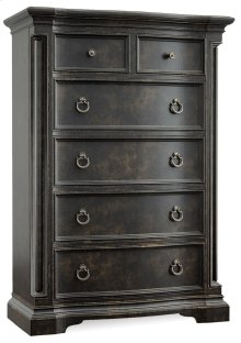 Bedroom Auberose Five-Drawer Chest