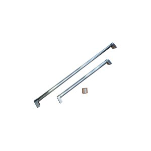 BertazzoniHandle Kit for 30 Built-in refrigerator Stainless Steel