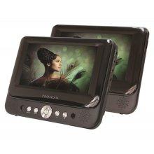 "7"" Dual Screen Portable DVD Player"
