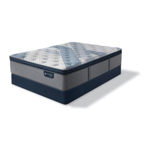 SertaiComfort Hybrid - Blue Fusion 1000 - Luxury Firm - Pillow Top - Cal King
