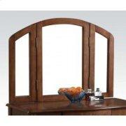Oak Finish Mirror Product Image