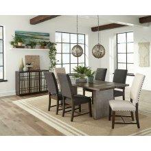Modern Craftsman Dining Table