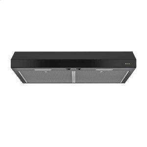 BroanGlacier 30-Inch 250 CFM Black Range Hood ENERGY STAR® certified