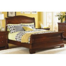 Evolution Sleigh Bed Queen