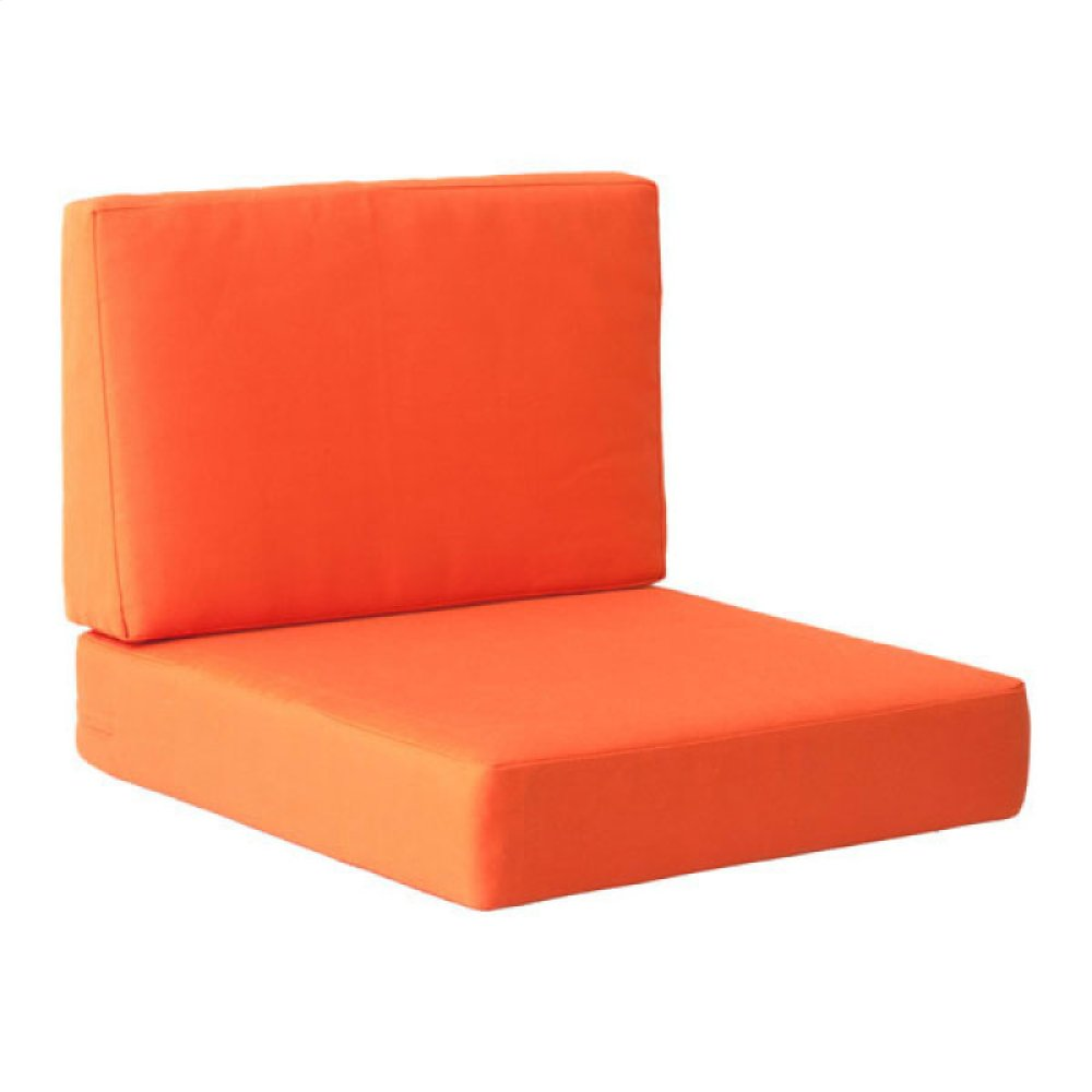 Cosmopolitan Arm Chair Cushion Orange