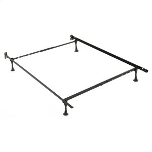 Leggett And PlattSentry PL79G Adjustable Posi-Lock Bed Frame with Headboard Brackets and (4) 2.5-Inch Glide Legs, Twin / Full