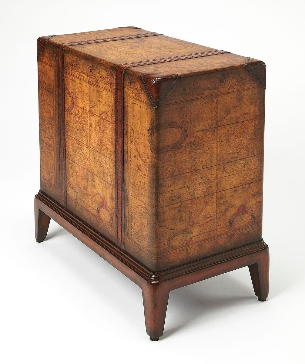 Regal And Functional, This End Table Is A Unique Piece That Will Be Admired  By