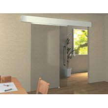 Self-closing Sliding Glass Door System