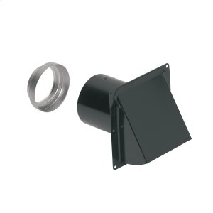 BroanBroan-NuTone(R) Steel Wall Cap for 3-Inch and 4-Inch Round Duct, Black