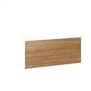 Bdi FurnitureDesk Return Back Panel 6009 in Natural Walnut