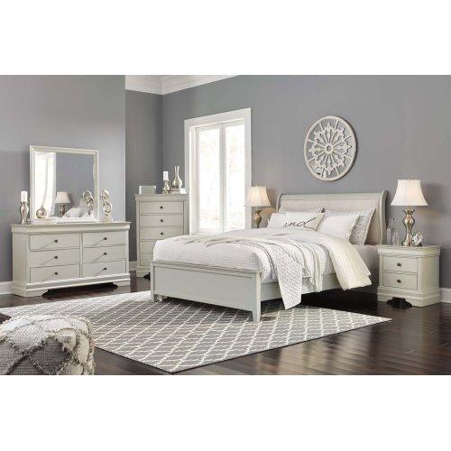 Jorstad - Gray 2 Piece Bedroom Set