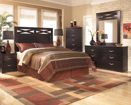 4 Piece Bedroom Set Headboard-Dresser-Mirror-Nightstand $599 Matching Chest $199