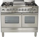 "40"" - 5 Burner, Double Oven w/ Griddle in Stainless Steel Product Image"