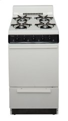 20 in. Freestanding Battery-Generated Spark Ignition Gas Range in Biscuit Product Image