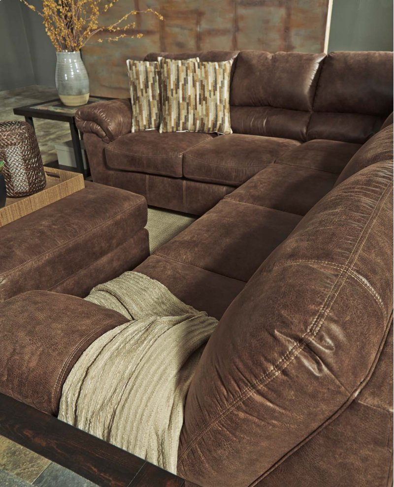 chaise w warehouse ashley design collections sectional item alliston right by s sofa tufting furniture signature gray lsg michael durablend