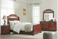 Fairbrooks Estate - Reddish Brown 3 Piece Bed Set (Queen) Product Image