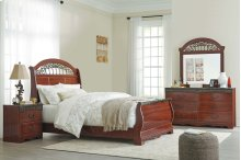 Fairbrooks Estate - Reddish Brown Bedroom Set