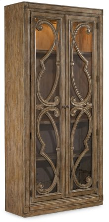 Living Room Solana Bunching Curio Cabinet