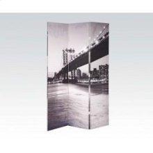 Bridge Scenery Wooden Screen