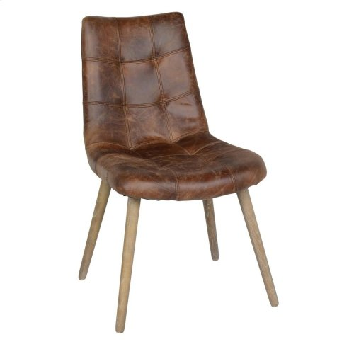 Roosevelt Side Chair Chestnut