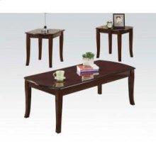 3pc Pk Cherry C/e Tables Set
