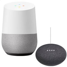 Google Home and Mini Black