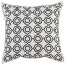 "Luxe Pillows Circular Links (22"" x 22"")"