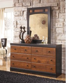 Aimwell - Dark Brown 2 Piece Bedroom Set