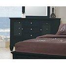 Sandy Beach Black 11-drawer Dresser Product Image